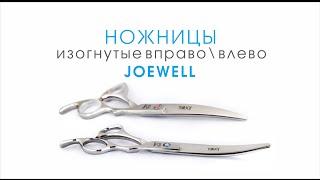 Ножницы для стрижки собак изогнутые вправо/влево JOEWELL 7 дюймов(http://www.smileydog.ru Недорогие и качественные ножницы изогнутые вправо/влево JOEWELL 7 дюймов для профессиональной..., 2014-12-07T11:18:34.000Z)