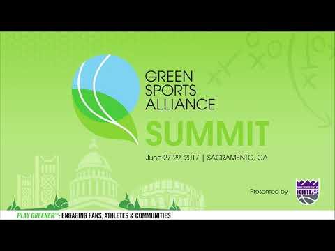 2017 Green Sports Alliance Summit - Opening Program with Basketball Legend, Bill Walton