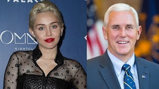 Miley Cyrus SLAMS Indiana Governor Over Gay Rights
