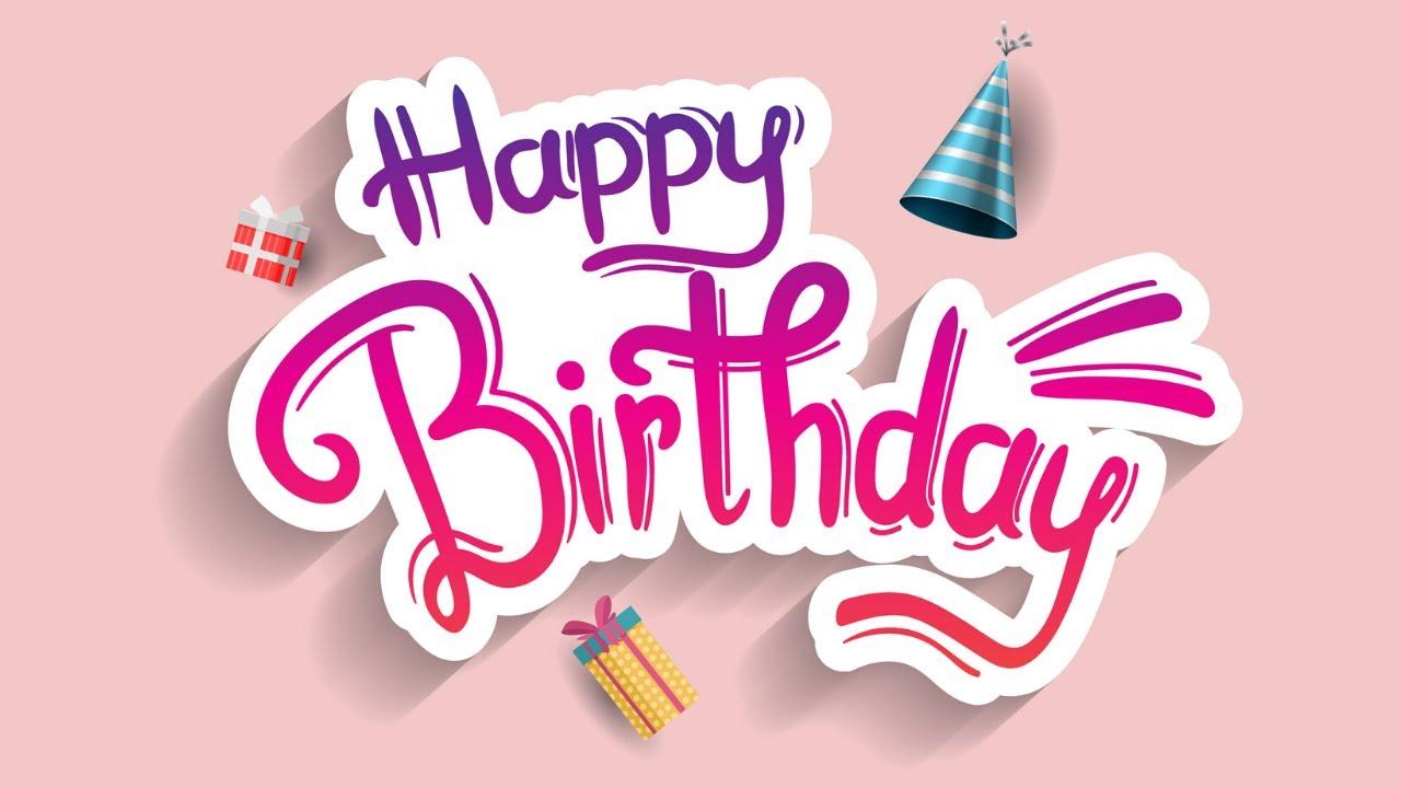 40 Ways To Say Happy Birthday Youtube