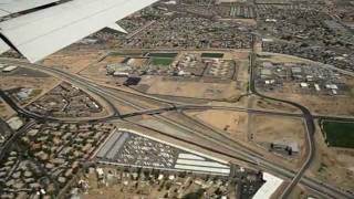 Las Vegas McCarran International Airport Approach and Landing