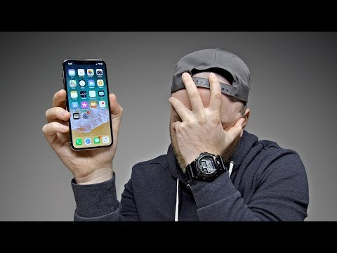 Thumbnail: Switching to the iPhone X...