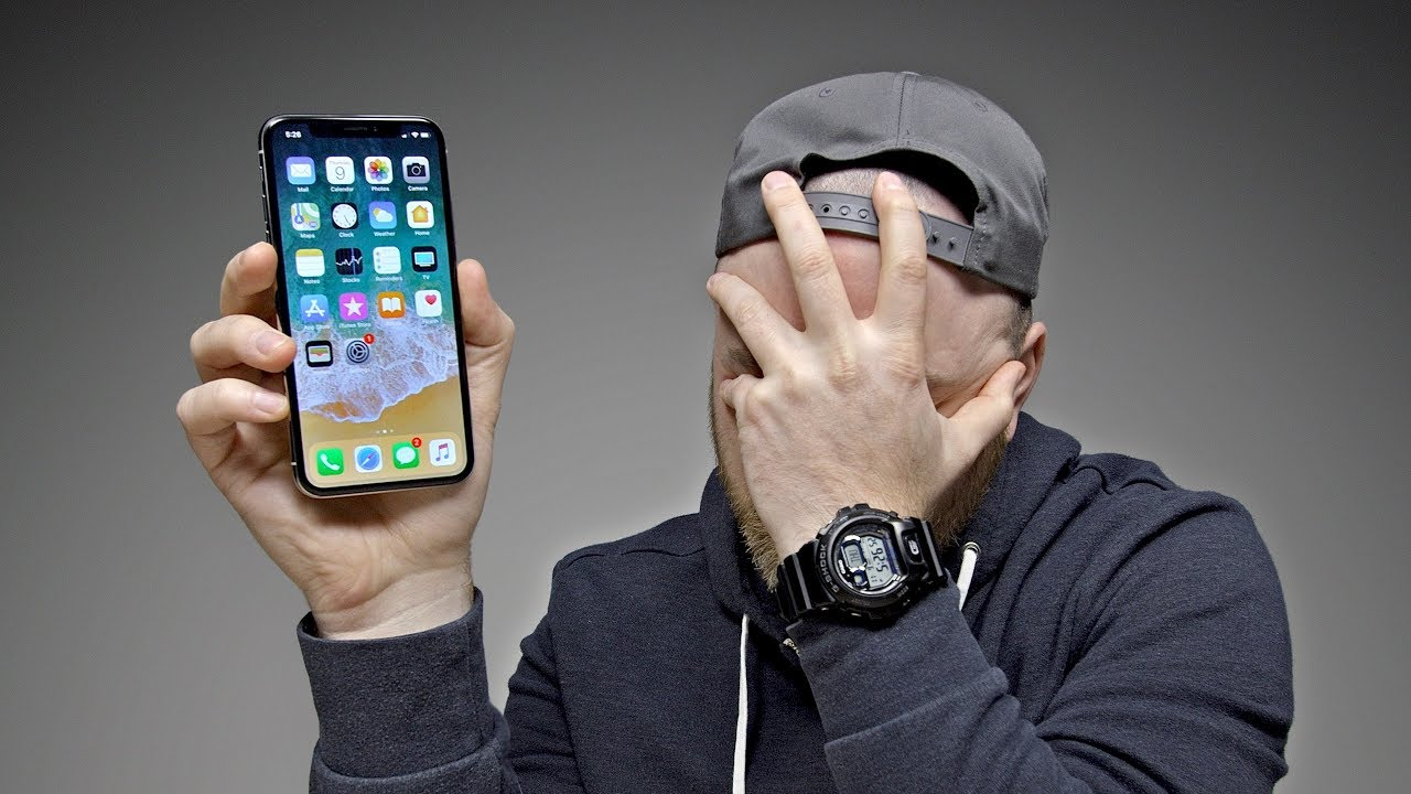Switching to the iPhone X... - YouTube