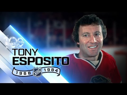 Tony Esposito won Vezina, Calder in 1969-70