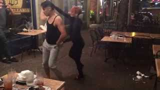 Nery Garcia & Giana Montoya Dancing Salsa in the streets of St. Louis