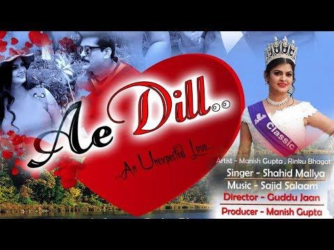 Shahid Mallya Song | Miss Asia Rinku Bhakat & Manish Gupta | Ae Dil | New Hindi Album  | M-Series |