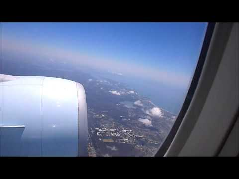 SYDNEY TO VANCOUVER TAKEOFF
