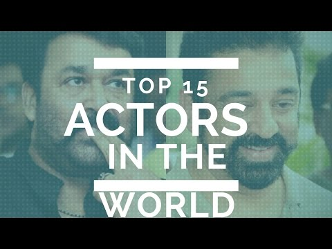 IMDB top 15 Actors in the world List released. Kamal hassan-Mohanlal- Lot more Indians.