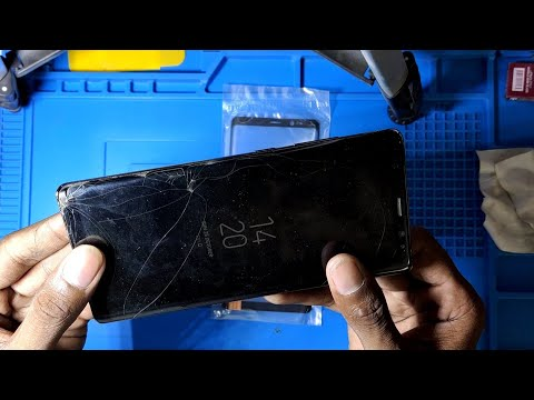 Samsung Note 8 Touch Glass Replacement Successfully 👍