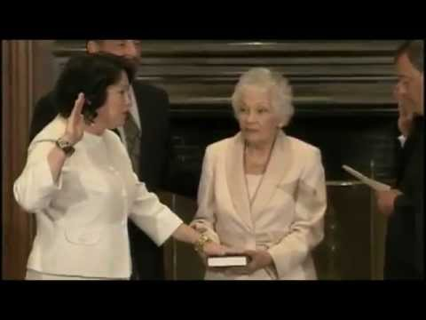 Supreme Court Justice Sonia Sotomayor - Romney Court