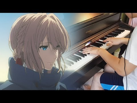 Violet Evergarden EP 6 OST - Wherever You Are, Wherever You May Be/(Piano & Orchestral Cover)
