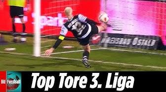Spektakuläre Rettung per Seitfallzieher | Top Tore vom 25. Spieltag | 3. Liga