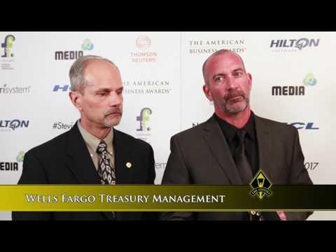 Wells Fargo Treasury Management Wins Stevie Award in 2017 American Business Awards