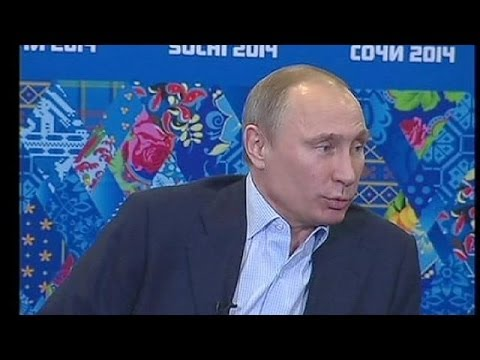 'Welcome' but warned - Russia's Putin cautions gay visitors to Sochi