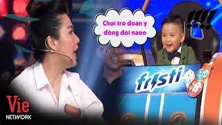 Bà trùm nhắc bài lộ liễu Lê Khánh kết hợp với con trai Nguyễn Hải Phong siêu ăn ý|Nhanh Như Chớp Nhí