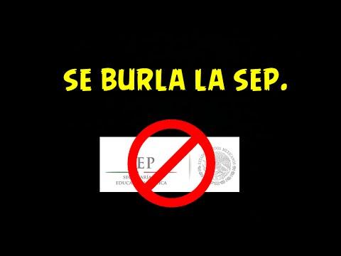 SE BURLA LA SEP DE APOYO A DIRECTOR SEC. TECNICA 5