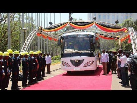 Ouganda : Kayoola, premier bus solaire africain
