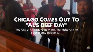 """Al's Beef Day"" 10.18.18 - Thank You Chicago for 80 Years"