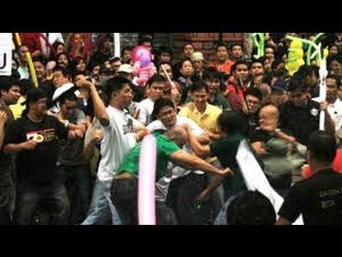 Taguig City Hall Rumble 12 injured May 5,2013