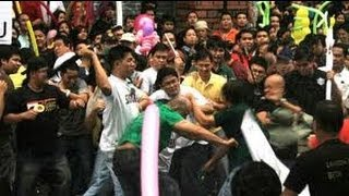 Taguig City Hall Rumble 12 injured May 5,2013