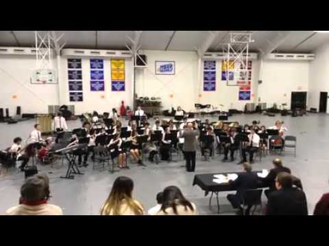 Chapelgate Christian Academy Symphonic Band ACSI 2015  Winter Dances