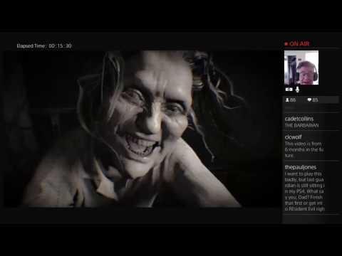 Old Man Risks Heart Attack for Resident Evil 7 Part 2 (2017-01-27)