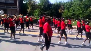 2012 Shaw High school Mighty Marching Cardinals nobody does it better