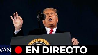 DIRECTO: Donald Trump participa en un acto de campaña en Carolina del Norte
