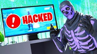 My fortnite account was hacked... (purple skull trooper)