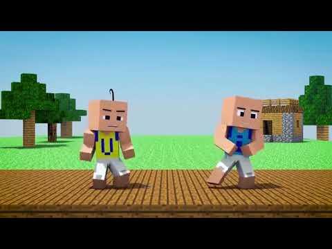 upin&ipin:rumah-hantu-versi-minecraft