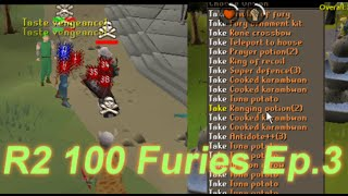 High Risk Pking - Road To 100 Furies Episode 3 - Oldschool Runescape 2007