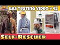 Self rescuer || Gas Testing Videos || self-rescuer || Mines || Mining videos