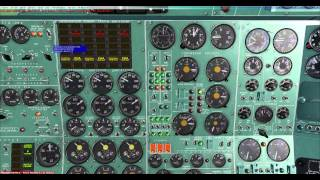 FSX Project Tupolev Tu154-B2 Warsaw/EPWA-EPGD/Gdansk Full Flight Part 1 HD