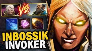 THE MOST DANGEROUS INVOKER!! MASTER TIER INVOKER INBossik  vs KUNKKA MID | Dota 2 Invoker