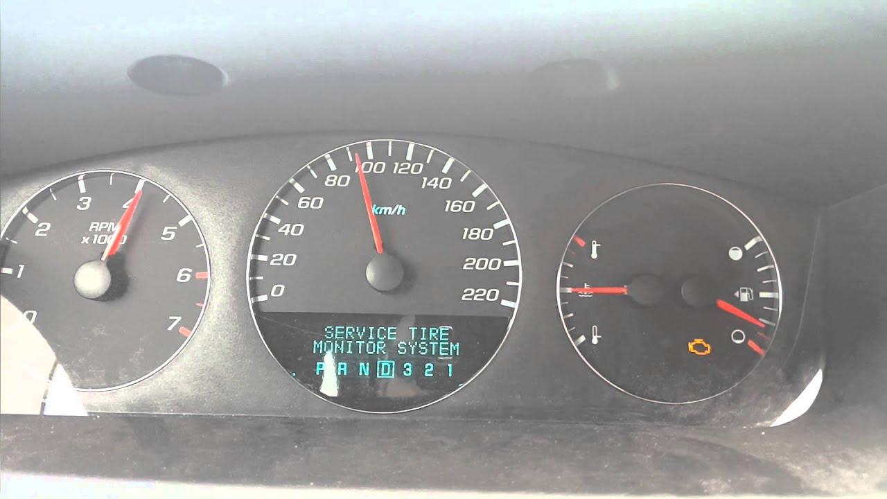 06 Chevy Impala LTZ 0 60