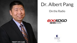 5/5/15 → Dr. Albert Pang from Trinity Eye Care live on News Radio