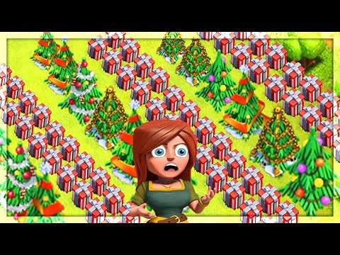 Thumbnail: MOST PRESENTS POSSIBLE in Clash of Clans?! FARMING Again!