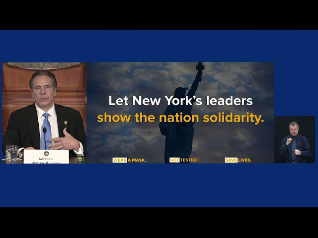 Governor Cuomo Delivers Update on COVID-19 in New York and Makes an Announcement