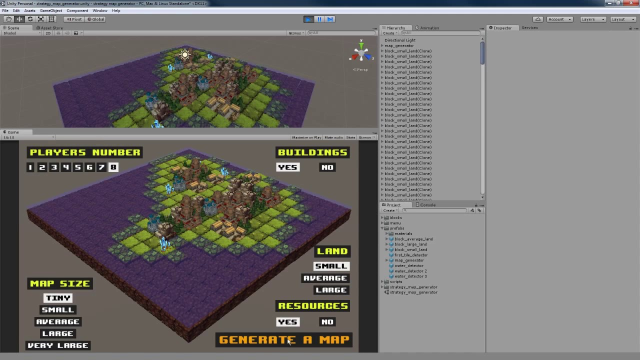 Unity3d strategy map generator youtube unity3d strategy map generator gumiabroncs Choice Image