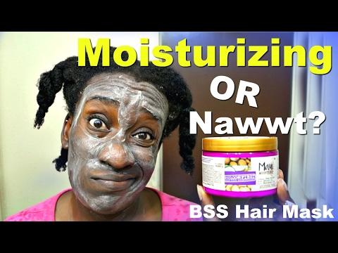 Maui Moisture Hair Mask First Impression | Deep Conditioning 4c Hair