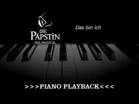 Piano Playback - Das bin ich (Die Päpstin)