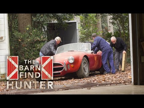 Rare 427 Cobra and Ferrari 275 extracted from condemned garage | Barn Find Hunter - Ep. 25