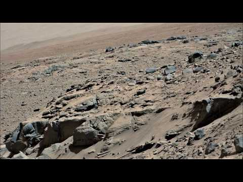 Curiosity Rover at Dingo Gap