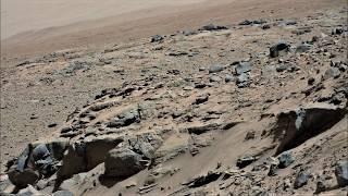 Curiosity Rover at Dingo Gap