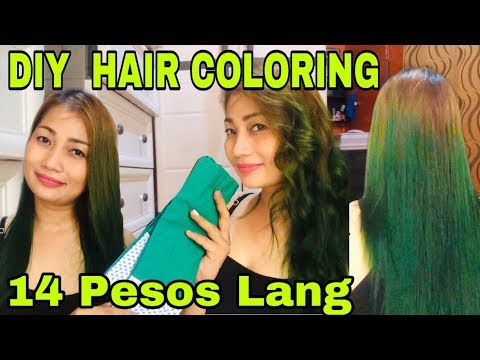 HOW TO COLOR HAIR USING CREPE PAPER!