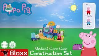 Építőjáték Peppa Pig Orvosi bőrönd PlayBIG Bloxx B