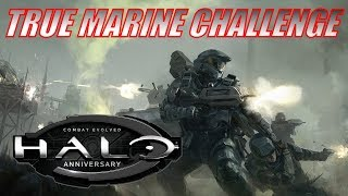 Halo: Combat Evolved Anniversary | True Marine Challenge
