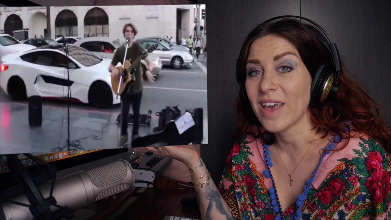 Singer Reacts To Celebrities Surprise Street Performers