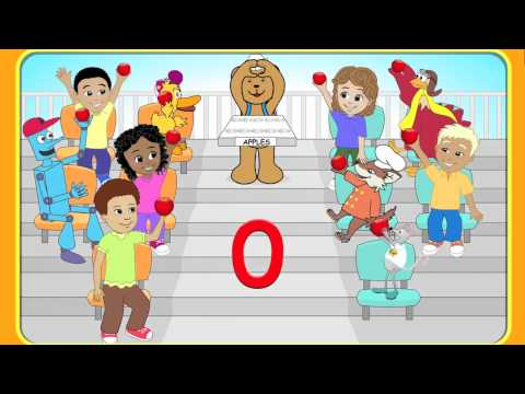 """Starfall's Interactive Number Zero (0) Activity and Song"" a Starfall™ Movie from Starfall.com"