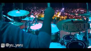 Sabyan Drumcam - Tabassam (cover) live at Aceh International Percussion 2019